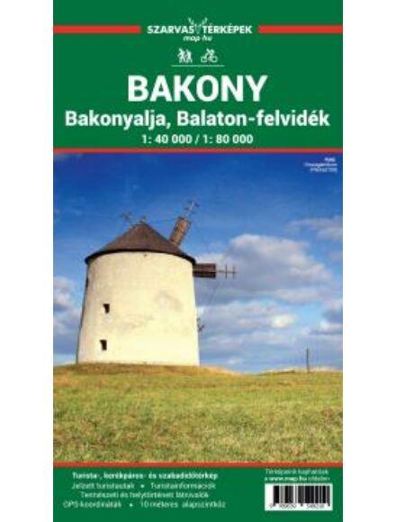Cartographia  - Bakony turistatérkép
