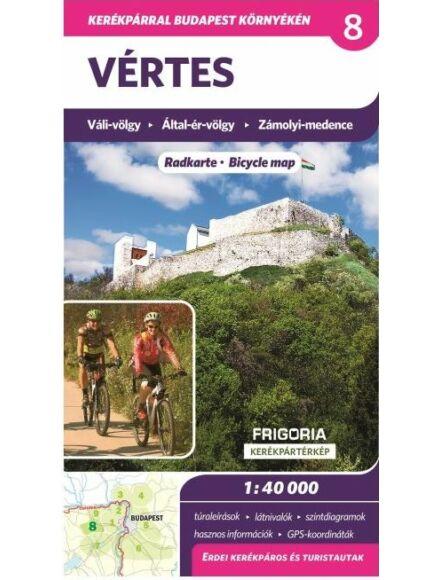 Cartographia  - Vértes kerékpáros térkép