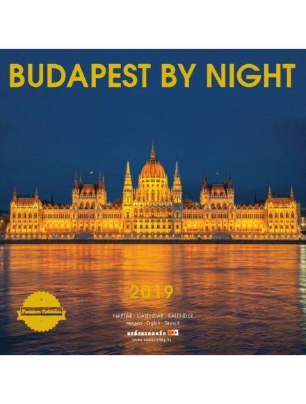 Cartographia  - Budapest by Night falinaptár 2019