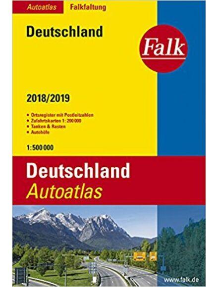 Cartographia  - Németország atlasz 2016/2017