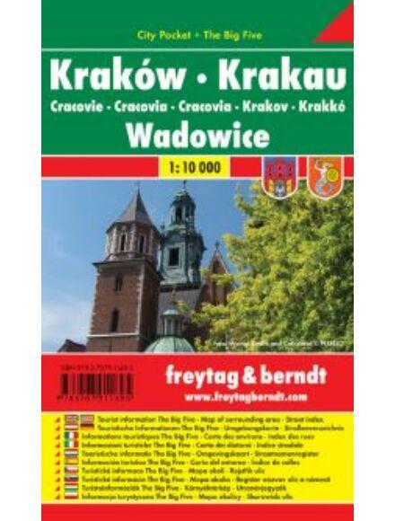 Cartographia  - Krakkó City Pocket várostérkép