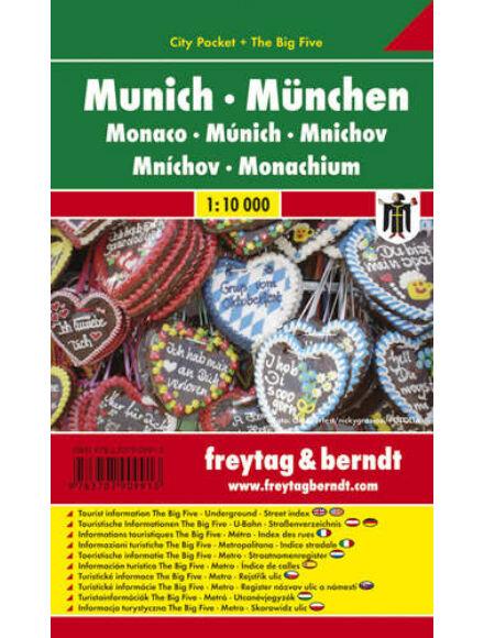 Cartographia  - München City Pocket várostérkép