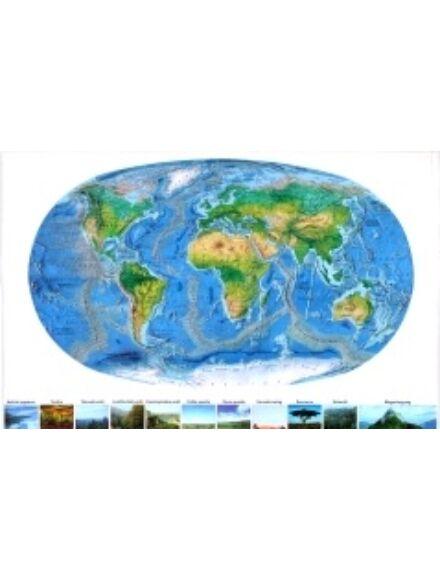 Föld felszíne - keretes