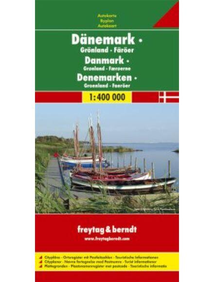 Cartographia  - Dánia térkép