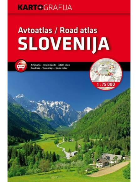Cartographia  - Szlovénia autóatlasz