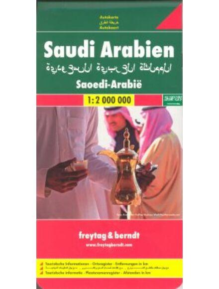Cartographia  - Szaúd-Arábia térkép