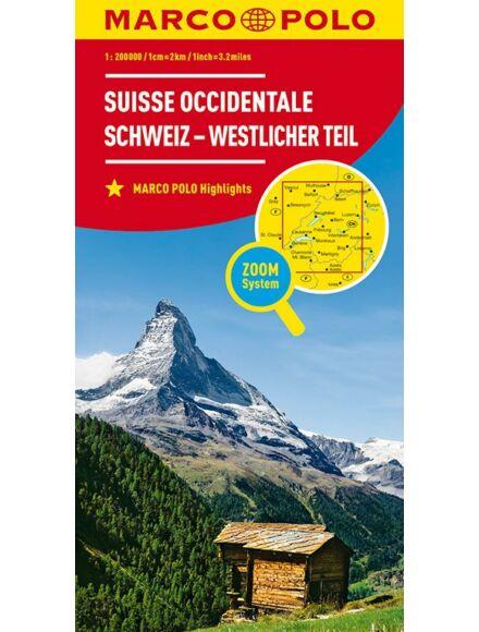 Cartographia  - Svájc résztérkép - Svájc Nyugat