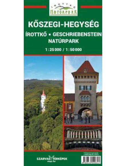 Kőszegi-hegység, Írottkő Natúrpark turistatérkép
