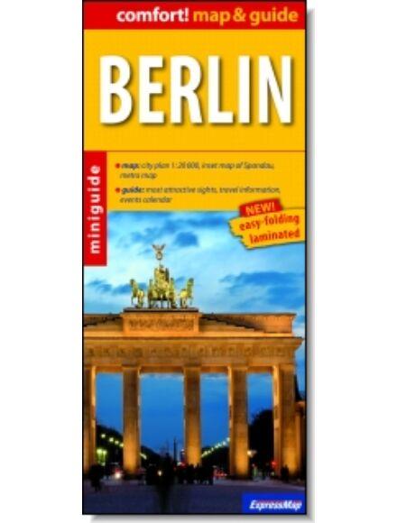Berlin (map&guide) laminált térkép