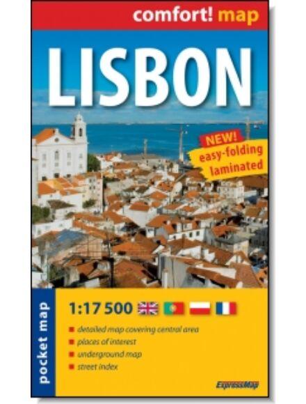 Lisszabon Comfort zsebtérkép