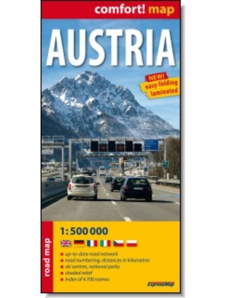 Cartographia  - Ausztria térkép