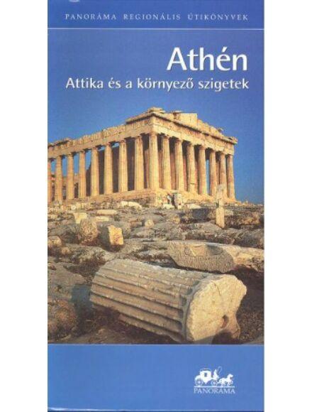 Athén, Attika és a környező szigetek  útikönyv