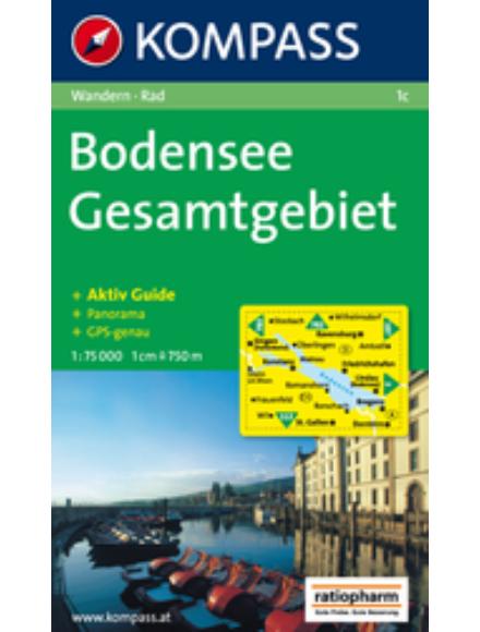 Cartographia  - Bodensee turistatérkép