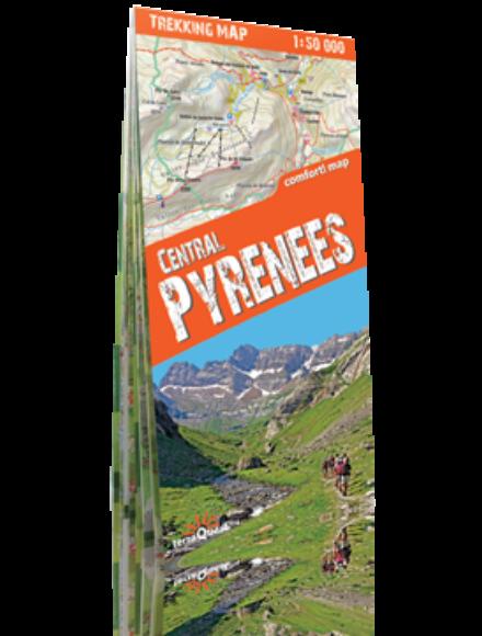 Cartographia  - Pireneusok középső rész trekking térkép