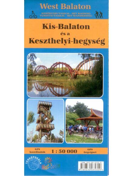 Kis-Balaton és a Keszthelyi-hegység térkép