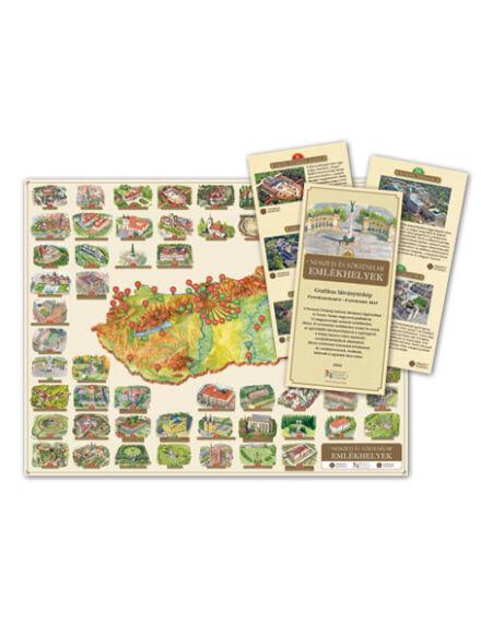 Cartographia  - Nemzeti és Történelmi Emlékhelyek Látványtérkép