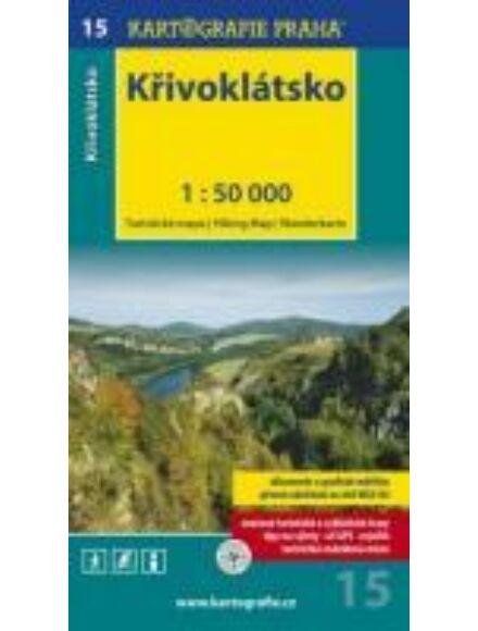 Cartographia  - TM 15 Krivoklátsko turistatérkép