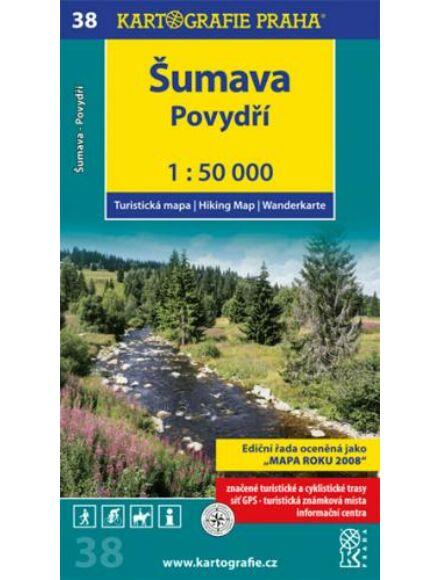 Cartographia  - TM 38 Sumava - Povydri turistatérkép