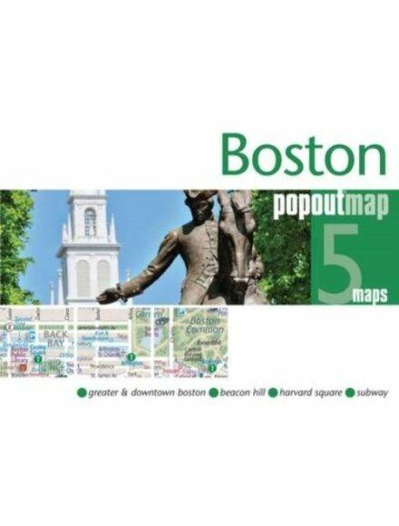 Cartographia  - Boston PopOut várostérkép