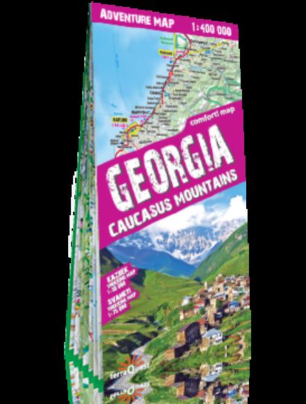 Cartographia  - Grúzia és a Kaukázus-hegység adventure térkép