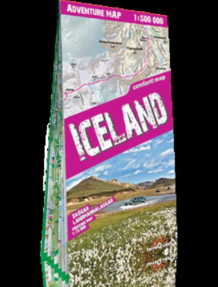 Cartographia  - Izland trekking térkép
