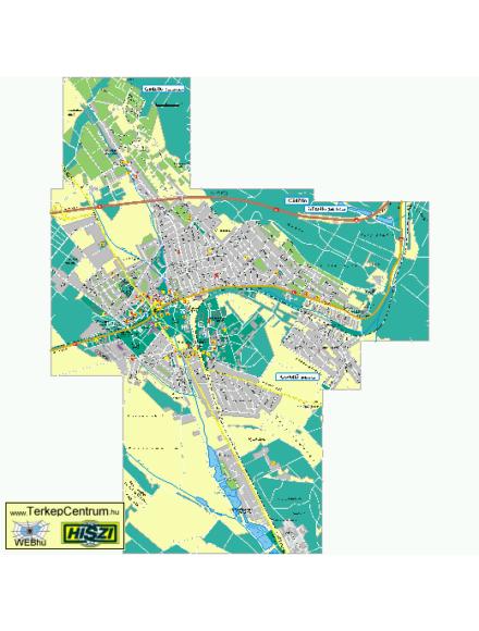 Gödöllő várostérkép