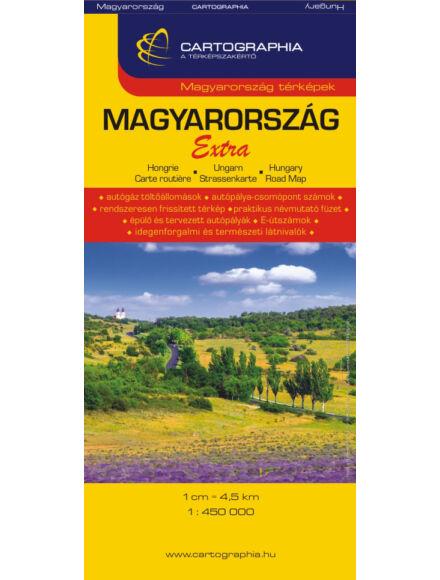 Cartographia  - Magyarország Extra (keményborítós) térkép