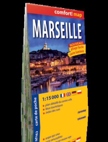 Cartographia  - Marseille Comfort zsebtérkép