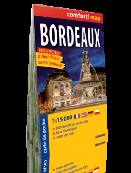 Bordeaux Comfort zsebtérkép