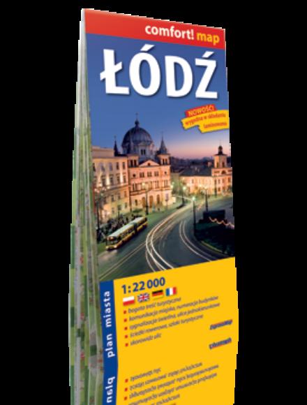 Cartographia  - Lodz Comfort várostérkép