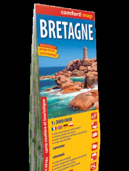 Cartographia  - Bretagne Comfort térkép