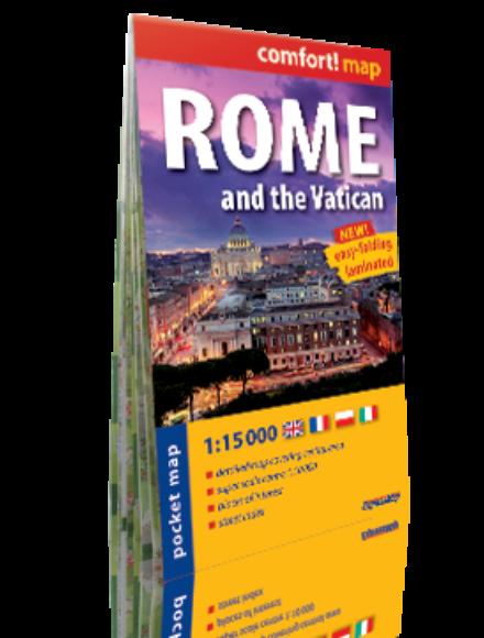 Róma, Vatikán Comfort zsebtérkép