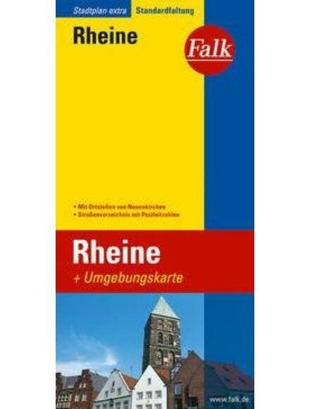 Rheine várostérkép