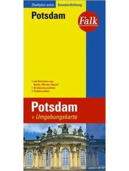 Potsdam várostérkép