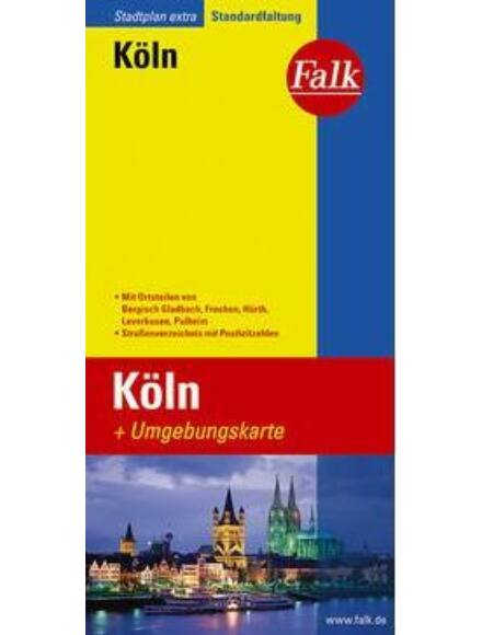Köln várostérkép