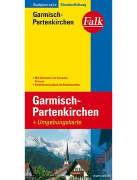 Garmisch-Partenkirchen várostérkép