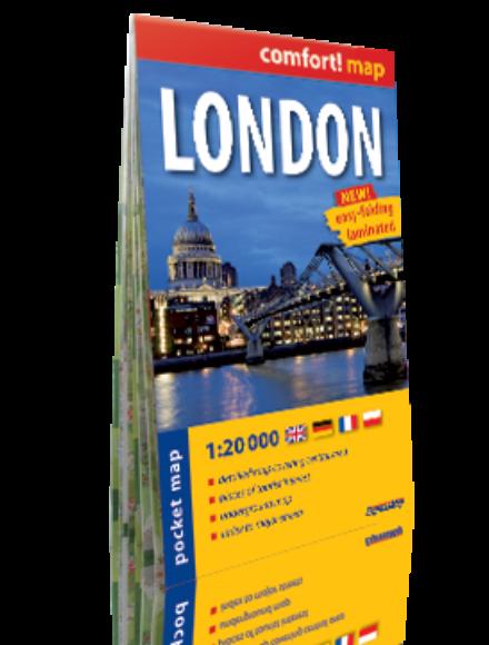 London Comfort zsebtérkép