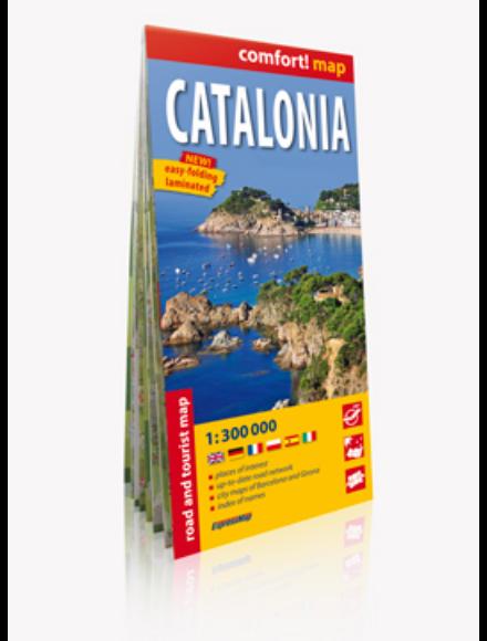 Cartographia  - Katalónia Comfort térkép