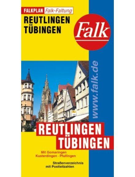 Cartographia  - Reutlingen, Tübingen várostérkép