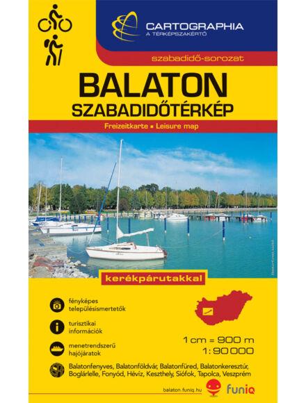 Cartographia  - Balaton szabadidőtérkép 1:90e.
