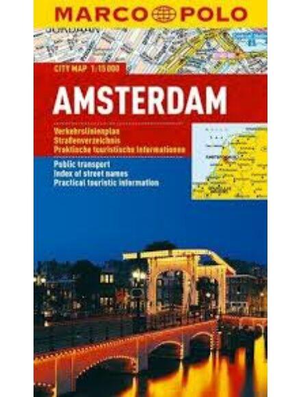Amszterdam várostérkép (Marco Polo)
