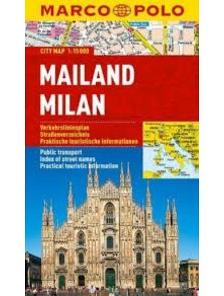 Cartographia  - Milánó várostérkép (Marco Polo)