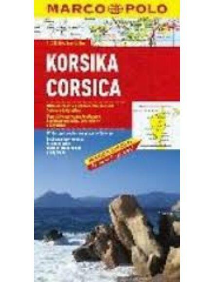 Korzika térkép