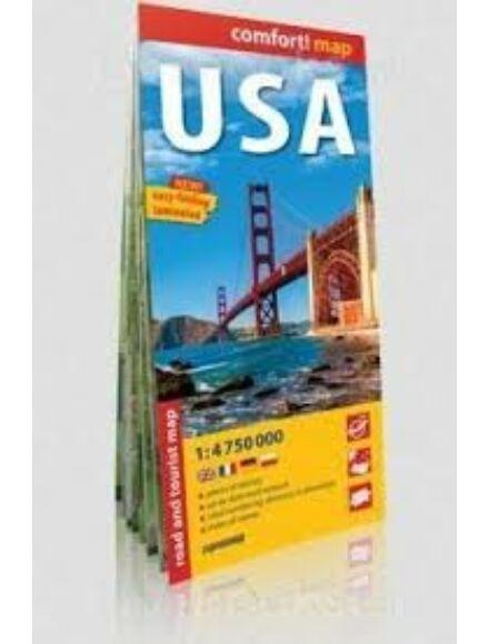 USA Comfort térkép
