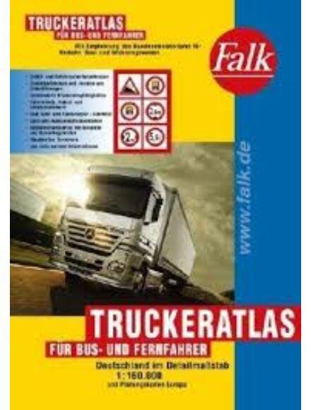 Németország kamionos atlasz (Truckeratlas)