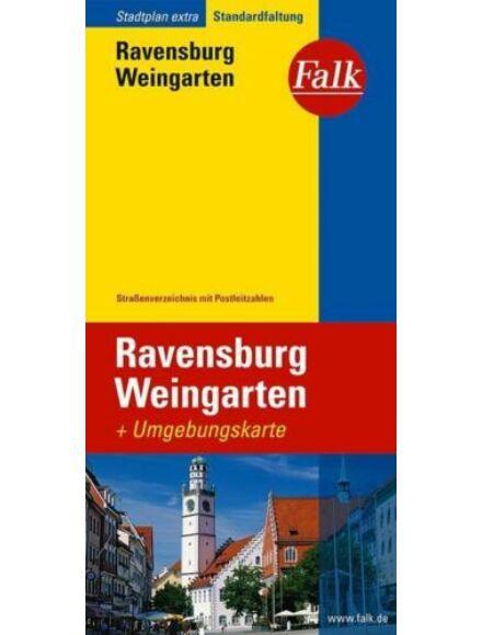 Ravensburg Extra várostérkép