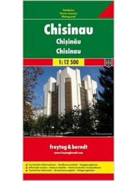 Cartographia  - Chisinau várostérkép