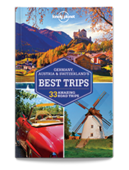 Cartographia  - Németország, Ausztria, Svájc legjobb túrái útikönyv (angol)