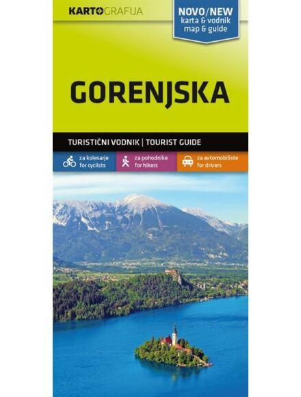 Cartographia  - Felső-Krajna/Gorenjska turistatérkép