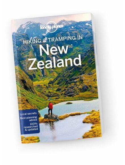 Új-Zéland útikönyv (Hiking and tramping - angol)